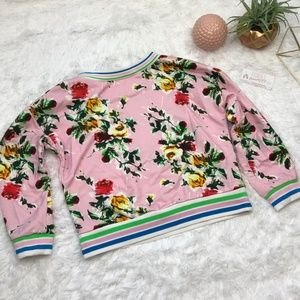 f353f9df6a69 Milly Tops - Milly Tyler floral sweatshirt